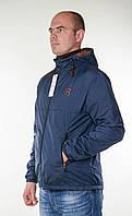 "Куртка-ветровка ""Reebok"" темно-синего цвета.Новинка!"