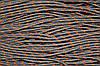 Шнур 5мм с наполнителем (100м) т.серый + оранжевый
