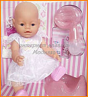 Пупс Baby Born в белом платье, BB 8009-443-2