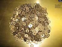 Шайба Ф5 ГОСТ 11371-78, DIN 125 плоская из латуни