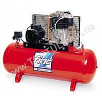 Компрессор поршневой с ременным приводом, Vрес=500л, 912л/мин, 380V, 7,5кВт FIAC Италия