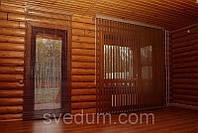 Вертикальные жалюзи из бамбука и джутовой ткани Симферополь, Крым
