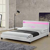 Кровать PARI 160х200 см. с LED подсветкой