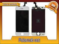 Тачскрин + дисплей на Iphone 5S, белый