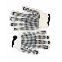 Перчатки вязаные Technics (16-002) белые с вкраплением, L (пар.)