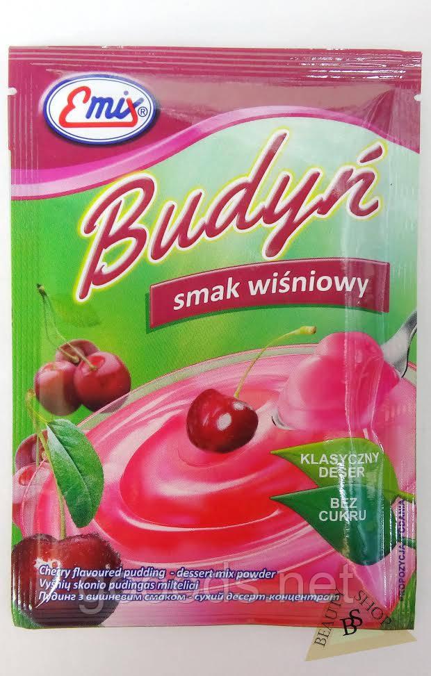 Пудинг с вишневым вкусом сухой десерт концентрат 41 г Emix Польша  - GOOODS.NET - Интернет магазин в Луцке