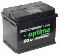 Аккумулятор SADA Optima 6CT-60Аз (Левый +)
