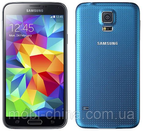 Смартфон Samsung G900 Galaxy S5 16GB Blue, фото 2