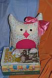 Сова Леди   интеръерная игрушка-подушка, фото 4