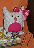 Сова Леди   интеръерная игрушка-подушка, фото 3