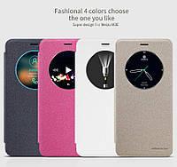 Кожаный чехол Nillkin Sparkle для Meizu M3E 4 цвета