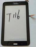 Сенсор Samsung Galaxy Tab 3 7.0 Lite SM-T116 чорний,білий, фото 2
