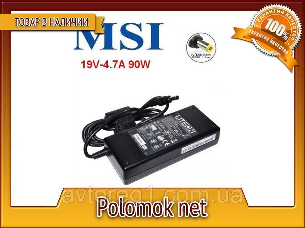 Зарядний пристрій MSI 19V 90W 4.74 A 5.5*2.5