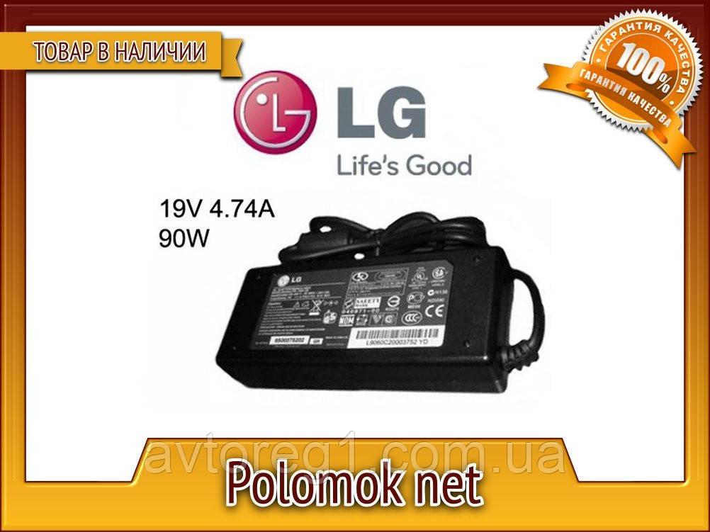 LG 19V 90W 4.74 A 5.5*2.5 блок живлення