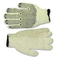 Перчатки вязаные Technics (16-001) серые с вкраплением, L (пар.)