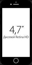 Диагональ экрана iPhone 7