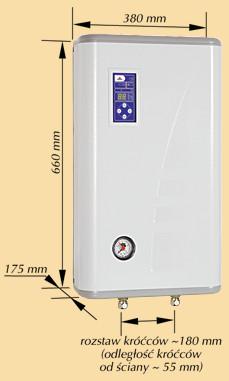 Котел электрический Kospel EKCO.L F6 кВт/220 с программатором