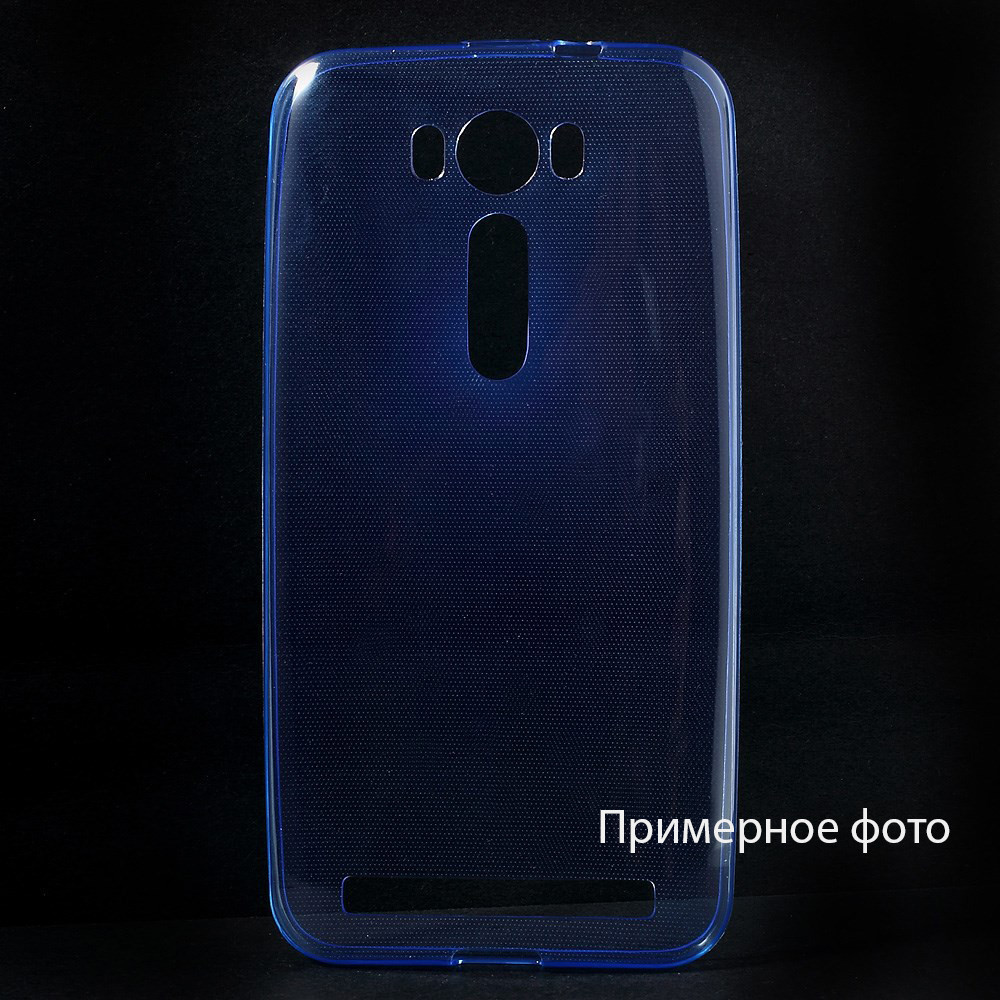Чехол накладка силиконовый TPU Remax 0.2 мм для LG G4c Magna синий