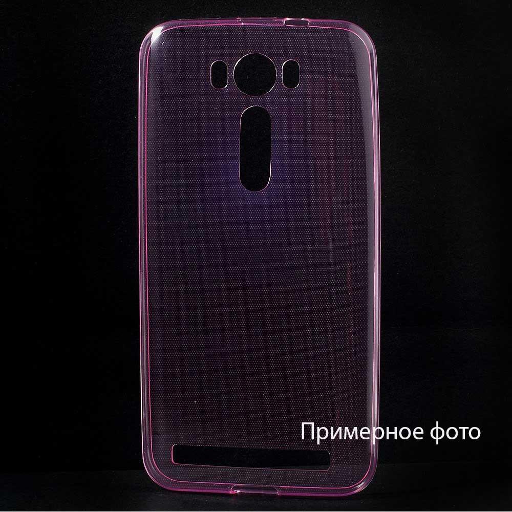 Чехол накладка силиконовый TPU Remax 0.2 мм для LG G4c Magna розовый