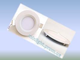 Светодиодный светильник круг 3W Down Light Plastic 4000K