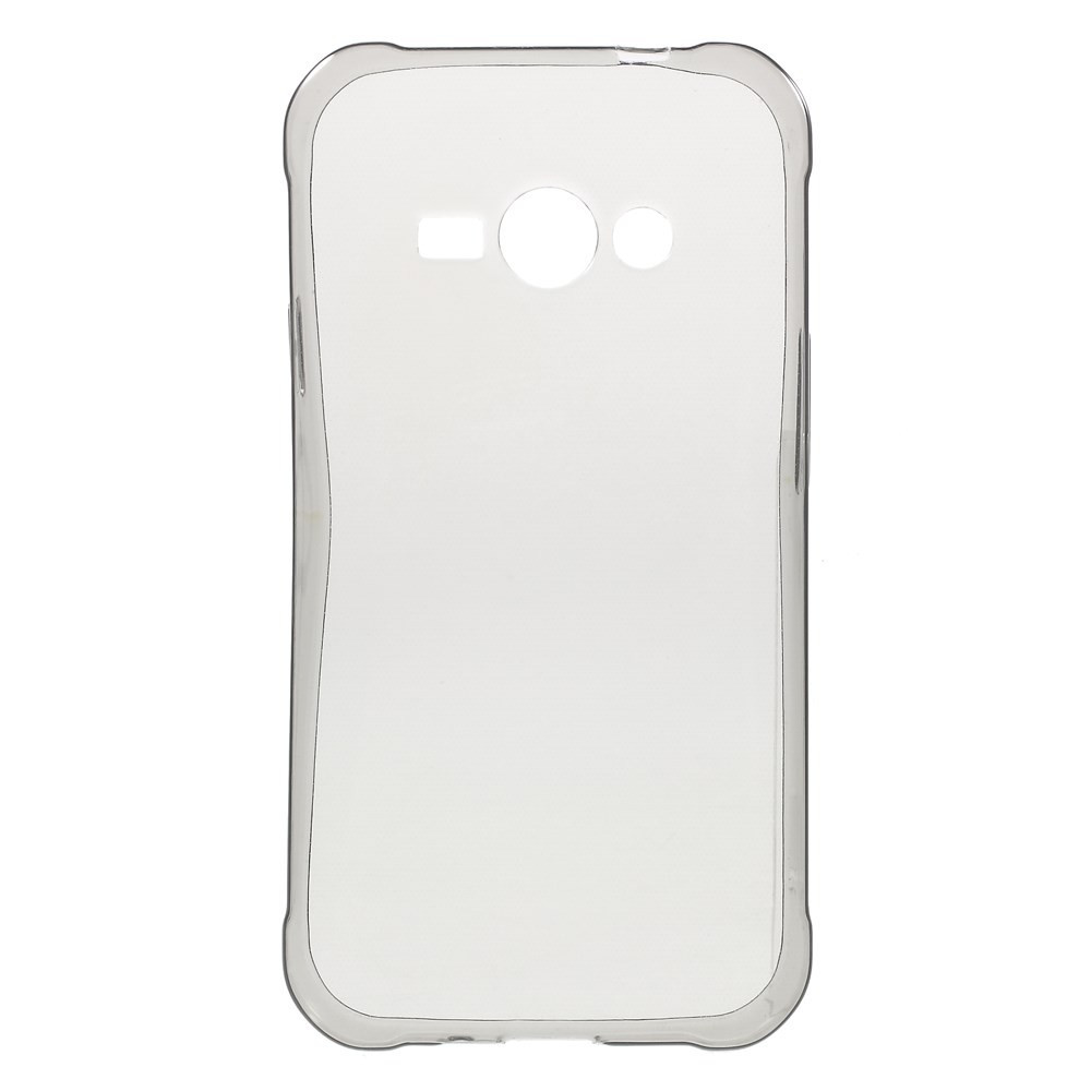 Чехол накладка силиконовый TPU Remax 0.2 мм для LG Max X155 серый
