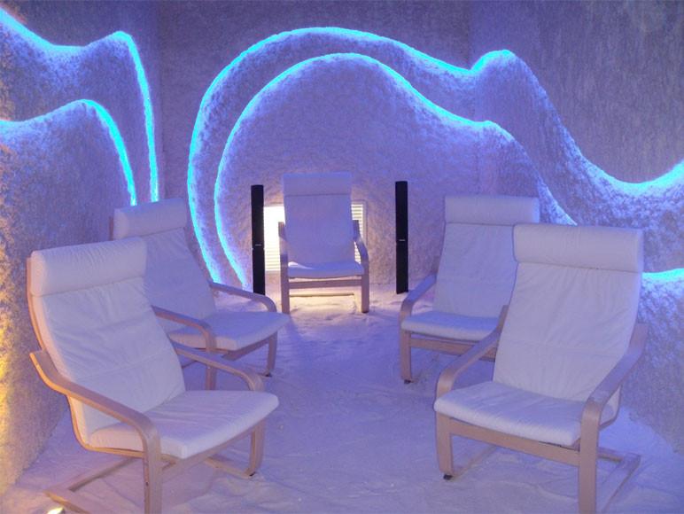 Строительство Соляных Пещер и комнат