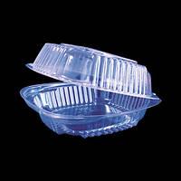 Пластиковая упаковка для гамбургера