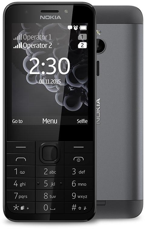 b74188b4597bf Купити Nokia 230 Dual SIM Dark silver: ціна - 1 799 грн.. Дивись всі ...