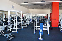 Спортивные  резиновые покрытия для тренажёрных залов, фитнеса, ледовых арен, спортивных залов