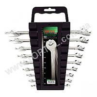 Набор ключей комбинированных на холдере 9 шт. GAAC0901 TOPTUL