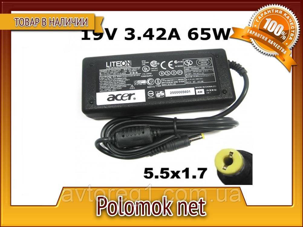 Зарядний пристрій Acer 19V 3.42A 65W (5.5*1.7)