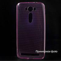 Чехол накладка силиконовый TPU Remax 0.2 мм для Sony C2305 S39h Xperia C розовый