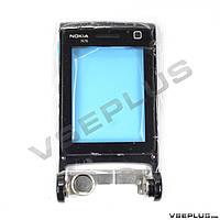 Поворотный механизм Nokia N76, черный