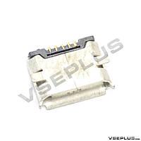 Разъем на зарядку HTC A3333 WILDFIRE / A6363 Legend G6 / EVO Shift 4G, Nokia 6500 Classic / 7900 / 8600 luna