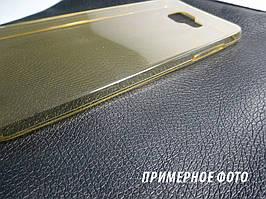 Чехол накладка силиконовый TPU Remax 0.2 мм для Samsung A710 A7 2016 золотистый