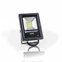 Светодиодный прожектор EVRO LIGHT 10Вт ES-10-01 6400K 550Lm SMD эко