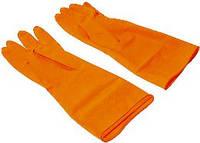 """Перчатки резин. с внутренним напылением, тип """"Латекс"""" Technics размер M (16-101) пар."""