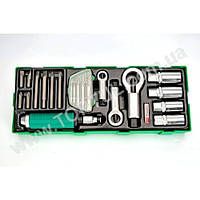 Набор инструмента комбинированный 22шт (в ложементе) GTA22340 TOPTUL