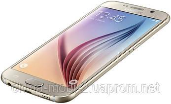Смартфон Samsung Galaxy S6 64GB G920 Platinum Gold, фото 2