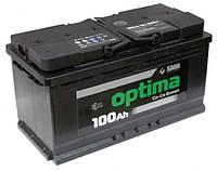 Аккумулятор SADA Optima 6CT-100Аз (Левый +)