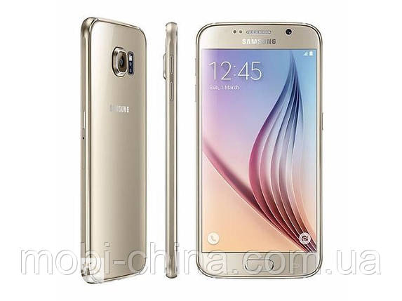 Смартфон Samsung Galaxy S6 64GB Duos G920 Platinum Gold, фото 2