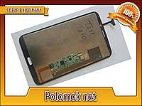 Тачскрин +LCD для Samsung SM-T211 черный оригинал