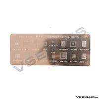 Трафарет Sony Ericsson K750 / K790 / K810 / K850 / W880