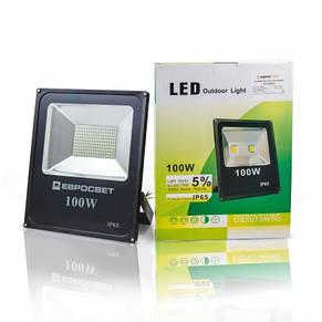 Прожектор светодиодный LED 100 Вт (W) ES-100-01 6400K 5500Lm SMD, фото 3