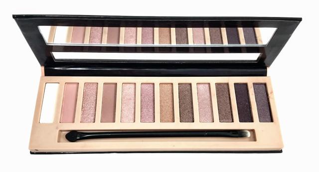 Тени для век L.A. Girl Beauty Brick Eyeshadow Collection Nudes палитра 12 оттенков