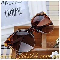 Леопард - женские дизайнерские солнцезащитные очки