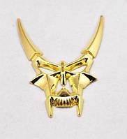 Демон - готичный значок наклейка на авто 3D метал!