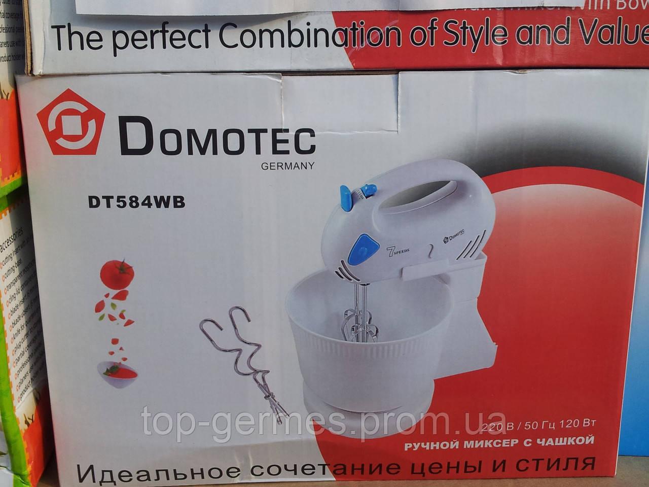 Ручной миксер DOMOTEC DT 584