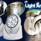 Светодиодная лампа с датчиком движения