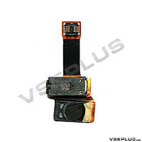 Шлейф Samsung S8530 Wave 2, с разъемом на наушники, с динамиком